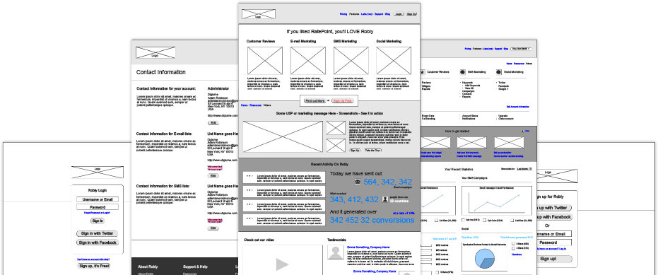 THE WIREFRAMES