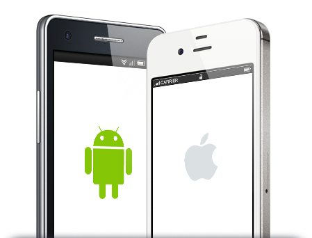 iOS &#038; ANDROID<br/>APP DEVELOPMENT