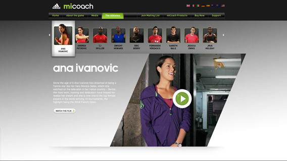 Micoach Game